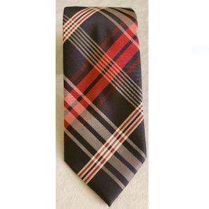Valerio Garati Red White Blue Neck Tie